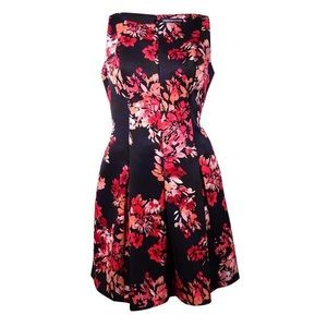 American Living A-Line Floral Dress